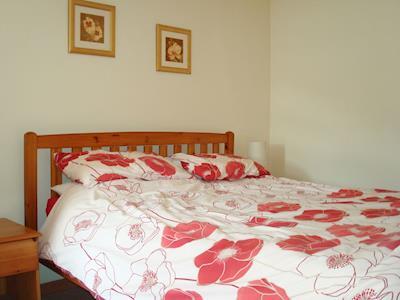 Relaxing double bedroom  | Fleet Cottage, Portree, Isle of Skye