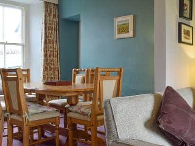 Convenient dining area | Crookthwaite Cottage, Hawkshead, near Ambleside