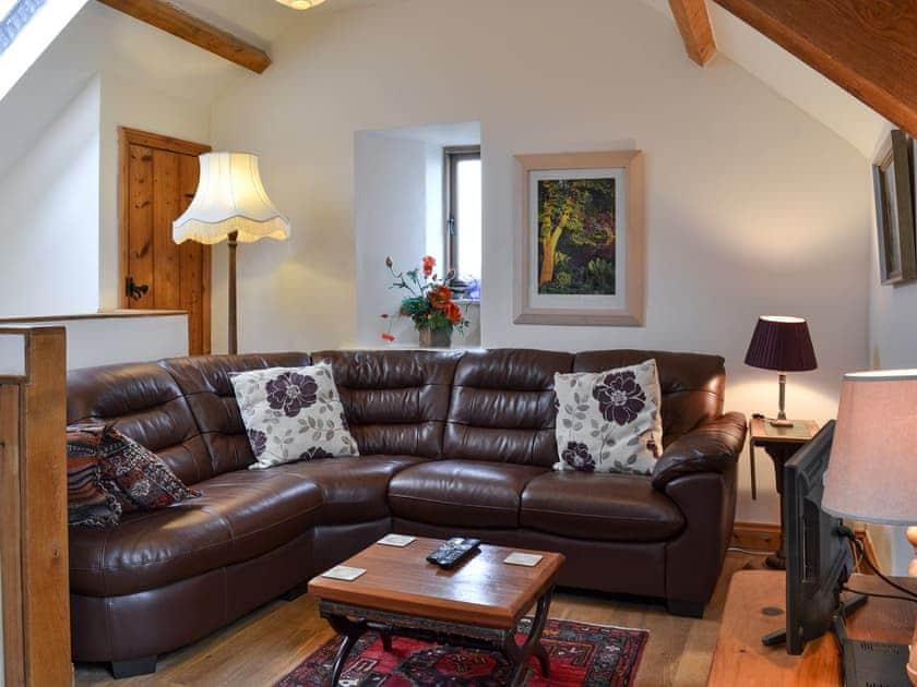 Lounge area   Bat Roost - Alta Lyn Barns, Lynton