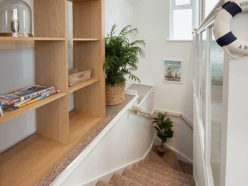 Stairway to the bedroom | College View Upper, Kingswear