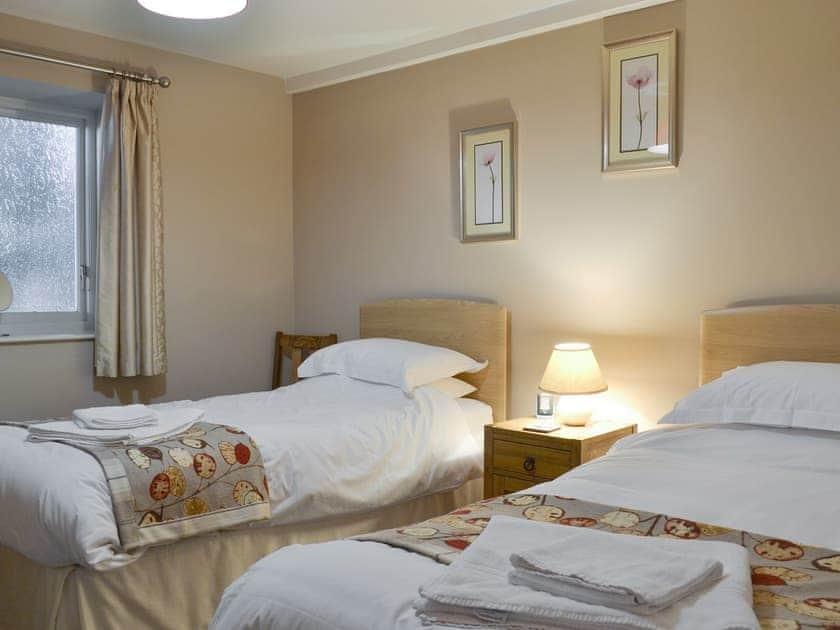 Good-sized twin bedroom   Swallows Barn, Low Marishes, near Pickering