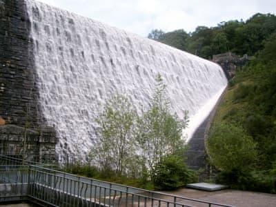 Elan dam | Kites Nest, Rhayader