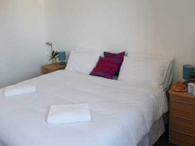 Relaxing double bedroom | Bunnyhops - Spey Bay Lodges, Spey Bay, near Fochabers