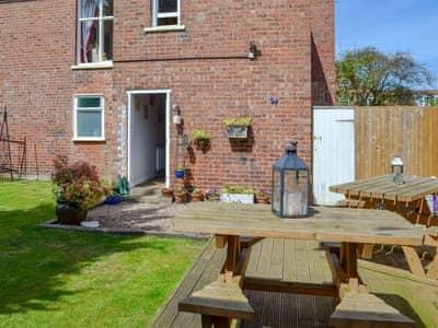 Wonderful lawned garden   Butterfly Lodge, Bridlington