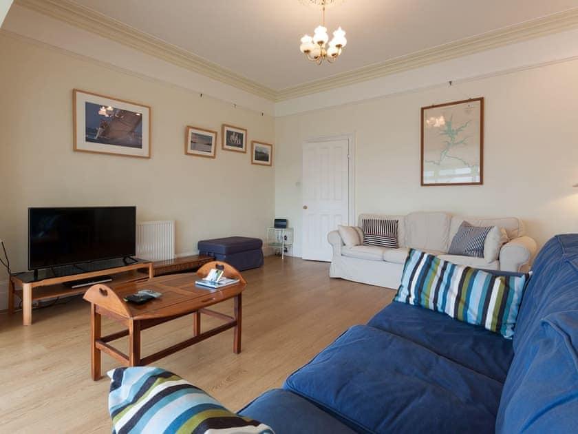 Welcoming living room   Innisfree, Salcombe