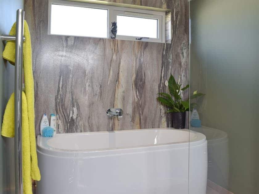 Attractive bathroom   Tranquillity - Dinas Country Club, Dinas, near Fishguard