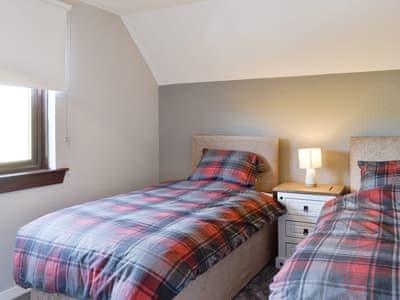 Good sized twin bedroom | Kelbrook - Airyhemming, Glenluce, near Stranraer