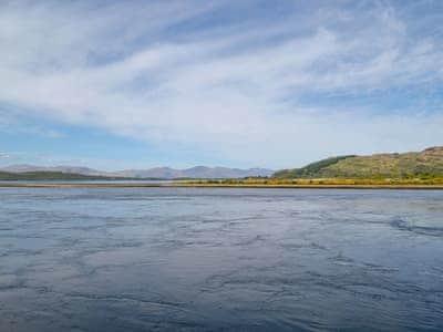 View | Tidereach, Connel, near Oban