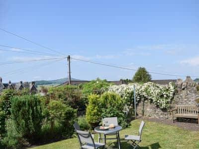 Sunny open garden | Lilac Cottage, Crieff