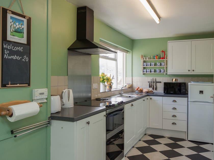 Tile-floored kitchen | Number Twenty, Dartmouth