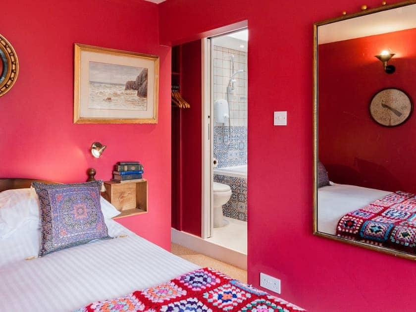 Ground floor Double bedroom with ensuite  | Number Twenty, Dartmouth