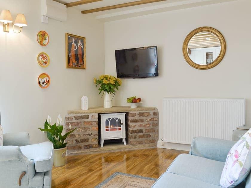 Welcoming living area | West Wood Hideaway, Wrelton, near Pickering