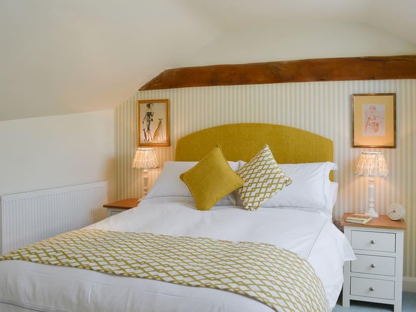 Relaxing double bedroom | West Wood Hideaway, Wrelton, near Pickering