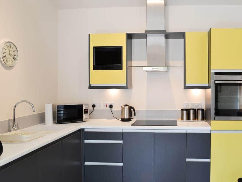 Stylish contemporary kitchen | Granary Lodge - Chestnuts Farm Cottages, Binbrook, near Market Rasen