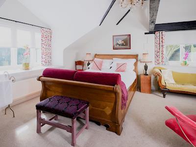 Master bedroom | Coomb Barton, Greenwood Grange Cottages, Higher Bockhampton, nr. Dorchester