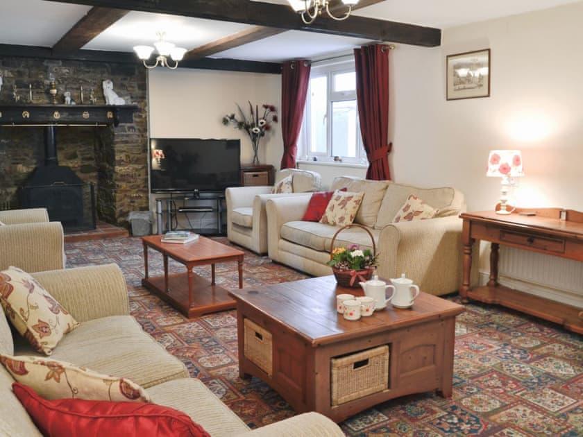Living room | Alminstone House, Woolsery, nr. Bideford