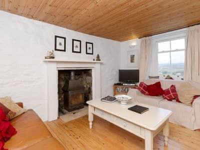 Cosy living room | Old Lighthouse Keeper, Milovaig, Isle of Skye