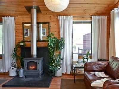 Living room   Bea Lodge, Glendevon, nr. Gleneagles