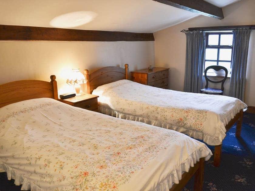 Twin bedroom | High Windy Cottage, Garrigill, nr. Alston