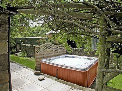 Hot tub | Laskill Grange - Foxglove Cottage, Bilsdale, nr. Helmsley
