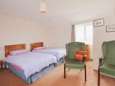 Double bedroom | High Farm Cottage, Gerrick, nr. Moorsholme