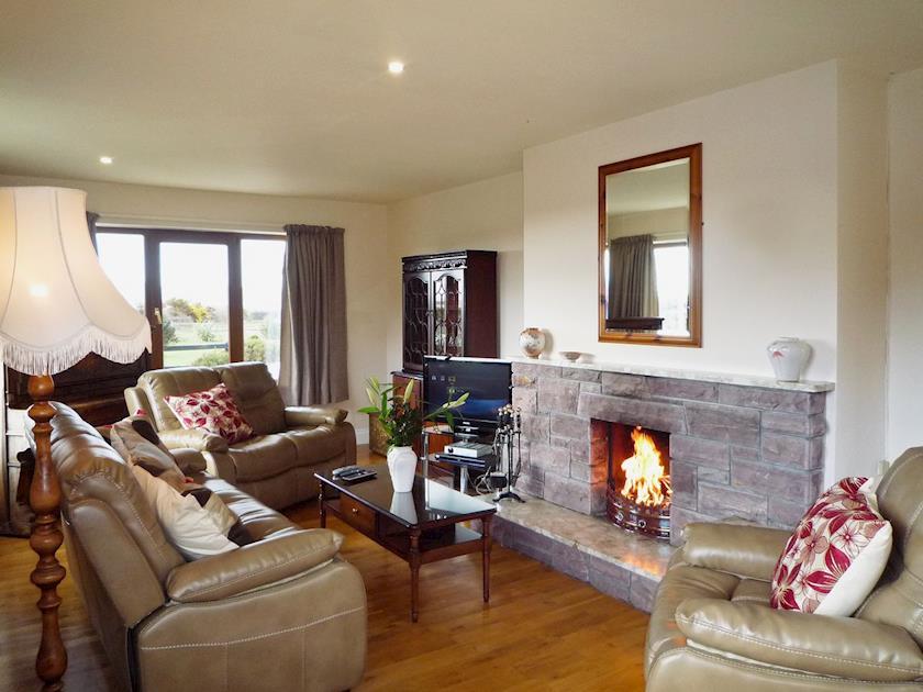 Living room | Behy Lodge, Glenbeigh