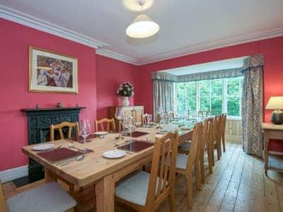 Dining room | The Vicarage, Lowick Bridge, nr. Coniston