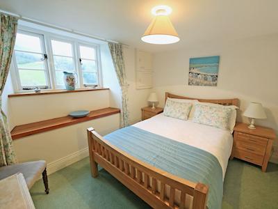 Double bedroom | 4 Castle Cottage - Tuckenhay Mill, Bow Creek, between Dartmouth and Totnes