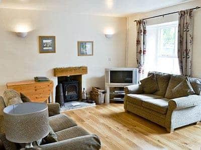Open plan living/dining room/kitchen   Coach House Cottage, Buckden, Grassington