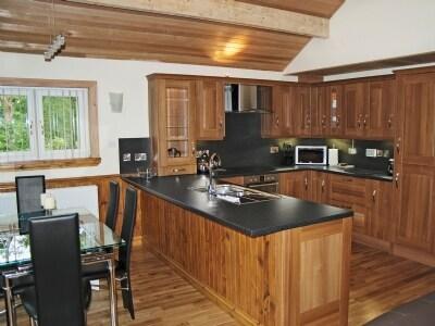 Open plan living/dining room/kitchen   Laurel Tree, Tigh an Daraich, nr. Oban