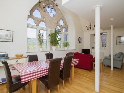 Open plan living/dining room/kitchen   Glen View, Fort Augustus