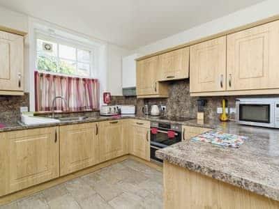 Kitchen/diner | Esk Apartment, Annan, Dumfries