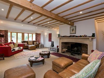 Living room | Country Barn at Pond Farm, Swanton Abbott