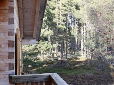 Balcony | The Hunting Lodge, Kingussie