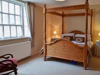 Four Poster bedroom | Belfrey House, York