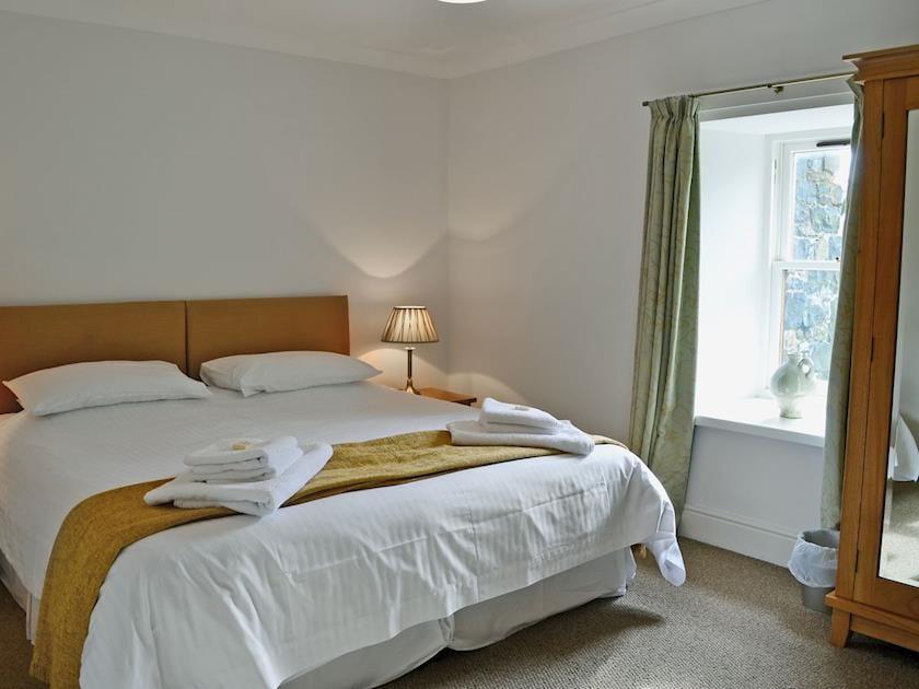 Comfortable double bedroom | Beech Cottage - Mountherrick Holiday Cottages, Crawfordjohn, near Biggar