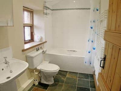 Bathroom | Granary Cottages - The Hay Loft, Bleatarn, nr. Kirkby Stephen