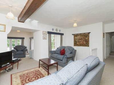Living room   Symbister Suite, Delgatie Castle, Turriff