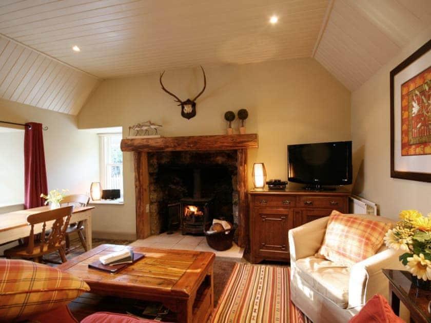 Sitting room | Brewlands Estate - Croft End Cottage, Glenisla, Blairgowrie
