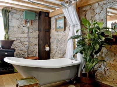 Victorian style bathroom | Hen Wrych Hall Tower, Abergele, Conwy