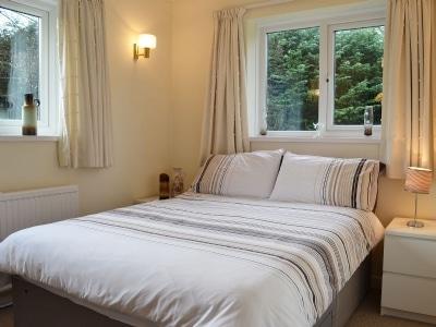 Double bedroom | Jenterra, Trefecca, Brecon, Powys