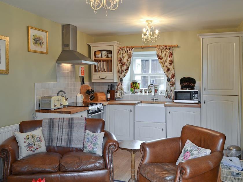 Open plan living space | South View Mews, Romaldkirk, near Barnard Castle