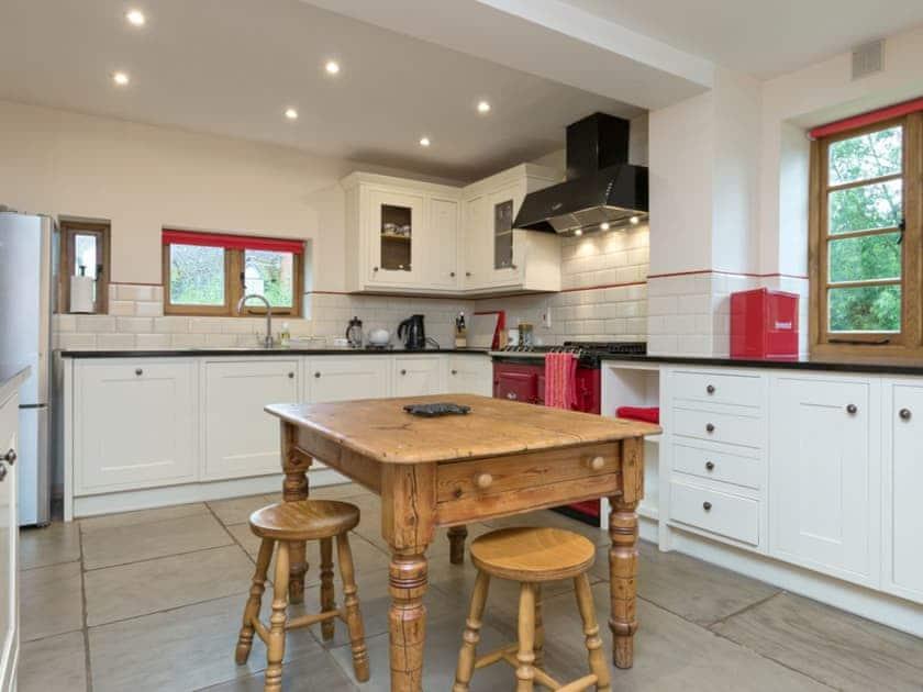 Contemporary kitchen | Brook House - Netherley Hall Cottages, Mathon, near Malvern