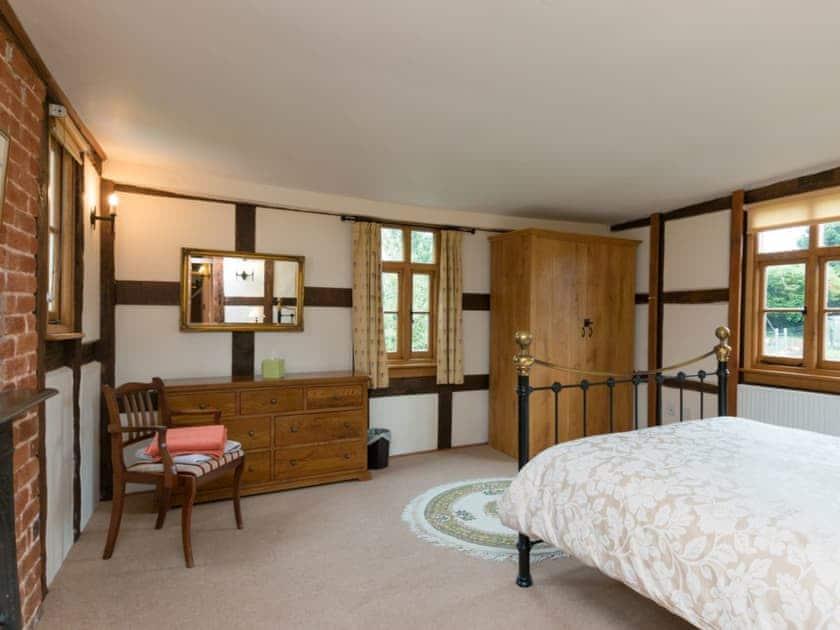 Master bedroom | Brook House - Netherley Hall Cottages, Mathon, near Malvern