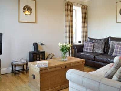 Stylish living room | Loch View, Colvend, near Kippford