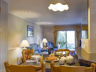 Convenient dining area | Boatland Cottage, Perth