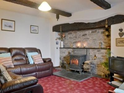Living room | Tanyffridd, Llanrhaeadr Ym Mochnant