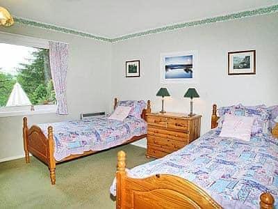 Twin bedroom | Ardabnaign, Kilchrenan, nr. Taynuilt