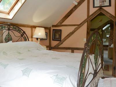 Relaxing double bedroom | Cwmmegan, Trefeglwys, near Caersws