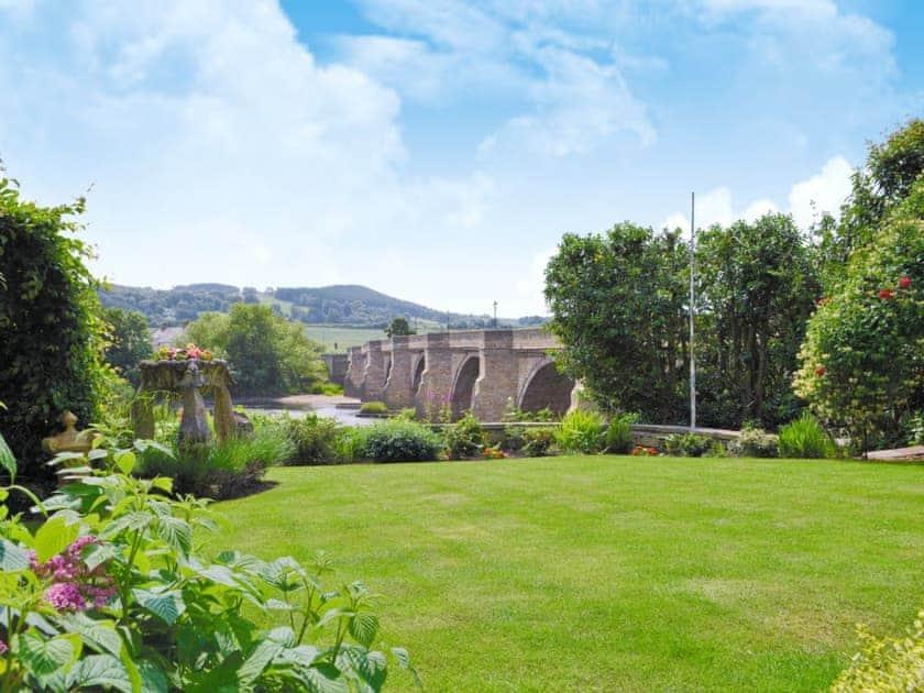 Garden | Bridge House Cottages - Quince Cottage, Corbridge